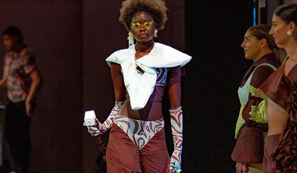 Fashion by TAFE SA graduate Rio Mignone
