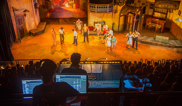 On stage and behind the scenes, TAFE SA students gain valuable experience on productions at Adelaide College of the Arts.