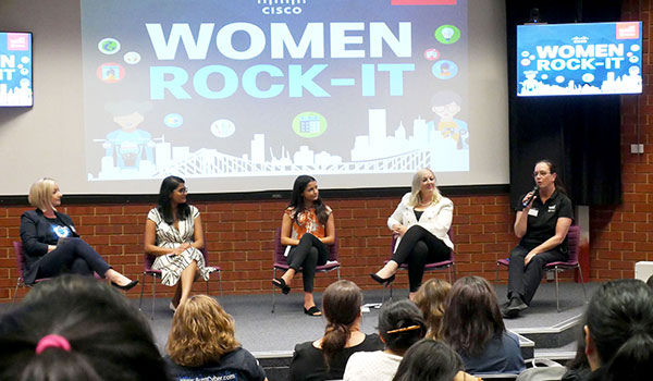 TAFE SA hosted a Women Rock-IT event to highlight career opportunities