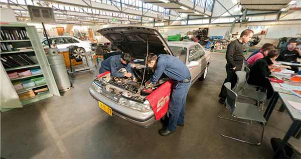 360 Degrees: Automotive Workshop
