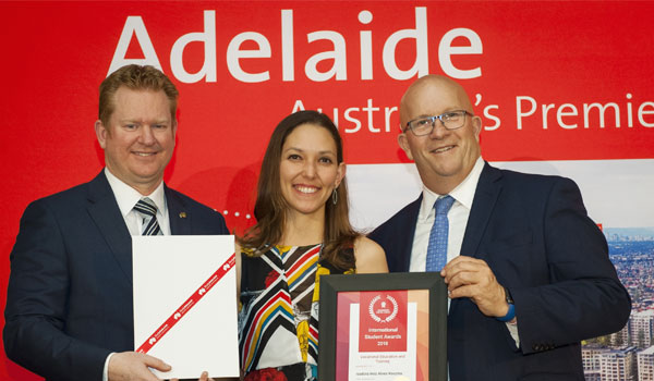 TAFE SA International Student wins Study Adelaide Award