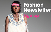 Fashion Newsletter Sign Up
